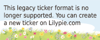 Lilypie Wellness Ticker