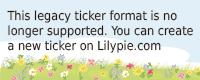 Lilypie Allaitement Ticker